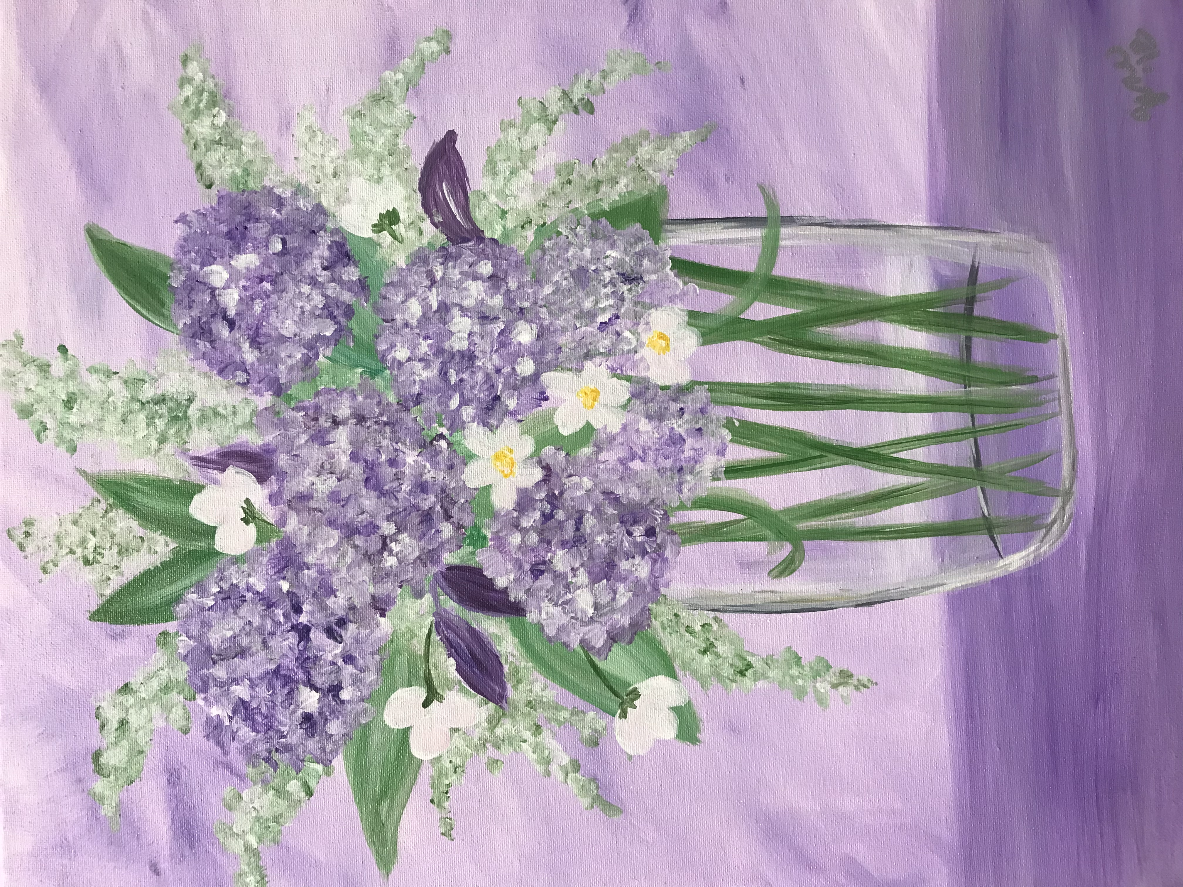 Lilacs and Lilies
